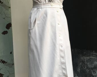 Karelia Finn midi button skirt large