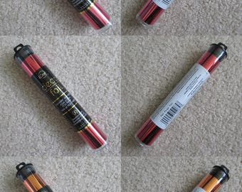 "Deco Foil Transfer Sheets 6"" X 12"" (5 sheets per package) - Choose Your Color"