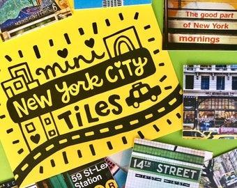 New York City Mini Tiles (Photo Mix #2)