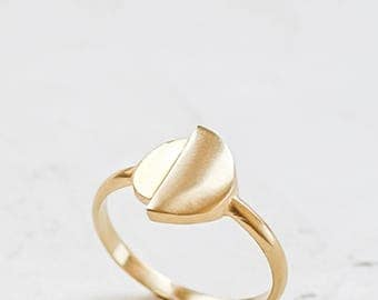 Circle Ring, Geometric Ring
