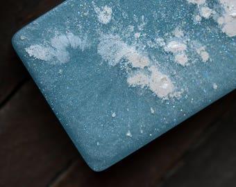 Snowfall Soap - Balsam, Spruce, Peppermint, Snow - Handmade Glycerin Soap