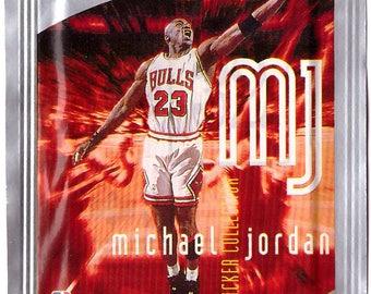 Unopened MICHAEL JORDAN Upper Deck Basketball Sticker Pack