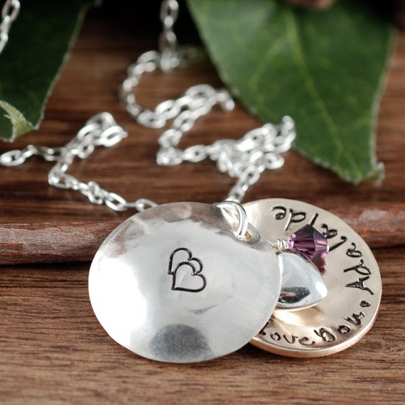 Personalized Mother Locket Necklace | Personalized Jewelry | Locket Necklace for Mom | Silver Locket Necklace | Name Necklace | Gift for Her