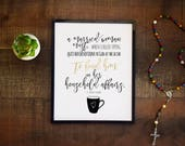 St. Frances of Rome Quote, Finding God in Housework, Married Woman Inspiration, Housewarming Kitchen Gift Saint Quote, Christian Wall Art