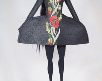 Ikebana ooak art doll  now 50% off