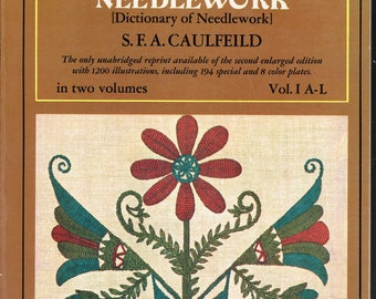 Encyclopedia of Victorian Needlework Two Volume Set of Paperback Books on Needlecraft Published by Dover in 1972 Originally from 1882