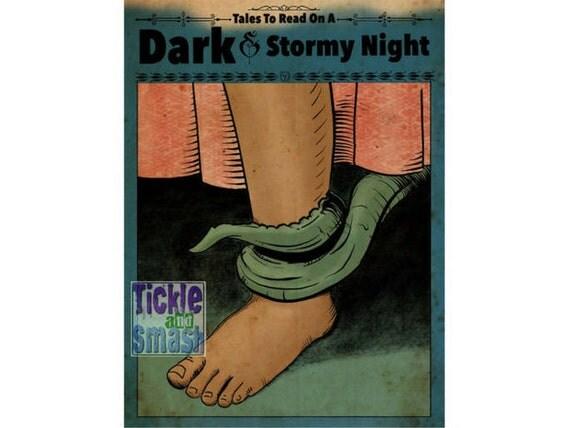 Scary Tentacle Card - Monster Card, Boogie Man Card- Spooky Card - Greeting Card,  Halloween Card, Horror Card, Snail Mail