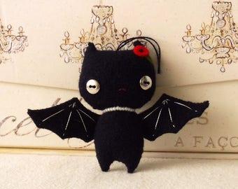 Halloween Bat Ornament pdf Pattern - Instant Download