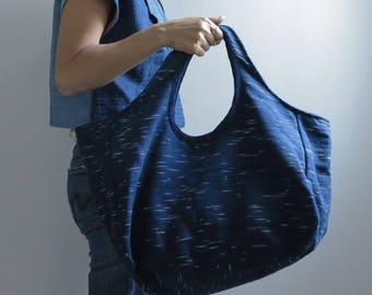 Summer Sale 20% Off - Indigo Tote Bag Saifon