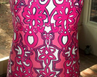 Lilly Pulitzer Summer Strapless DRESS Size 4