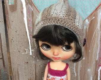 Blythe crochet gnome hat