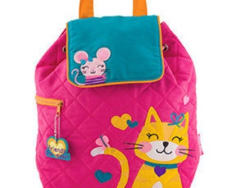 New Cat Backpack Personalized Stephen Joseph