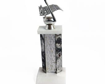 Vintage Vocalist, Musician - Musical Note Trophy