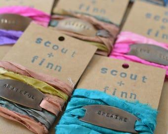Silk Sari Wrap Bracelet