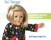 Too Cute Doll Designs FALL 2017 - Sewing newsletter for 18 inch dolls