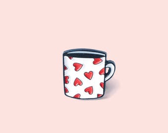 Cute MUG enamel pin / brooch