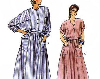 Vogue 8990 Sewing Pattern for Misses' Dress - Uncut - Size 14, 16, 18