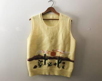 Sonoran Desert Knit Vest