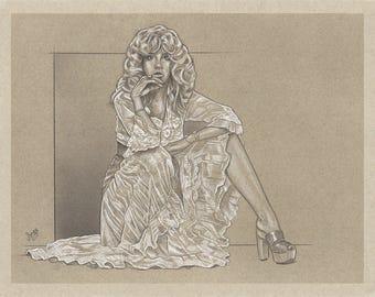 Stevie Nicks Illustration