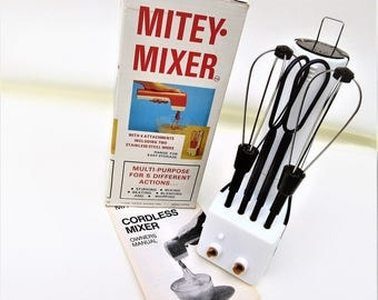 Vintage Mixer   Battery Operated Mixer   Egg Beater   RV Gift
