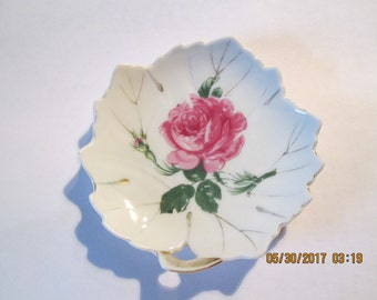 Vintage Trinket Dish, Home Decor, Soap Dish, Dish Collector, Made in Japan