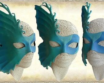 Leather fantasy mask
