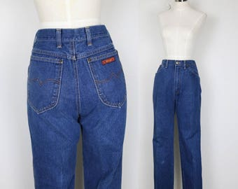 Vintage Wranglers High Waisted Denim, Jeans, Pants, with 26 waist