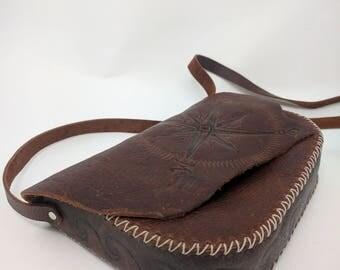Pirate's Treasure Leather Crossbody bag