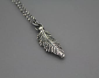 Cremation Necklace, Feather Jewelry, Cremation jewelry, Memorial Jewelry, Cremation Ash Jewelry, Bereavement Jewelry, Pet Memorial
