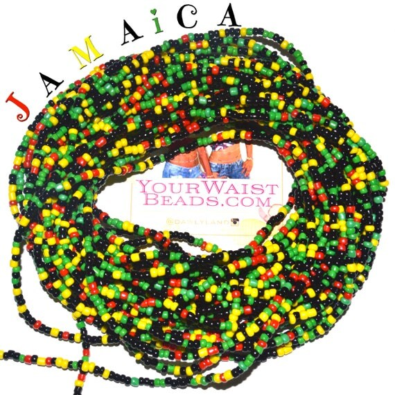 Waist Beads & More ~ JAMAICA~ YourWaistBeads.com