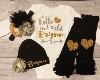 baby girl, coming home outfit, baby girl clothes, baby girl outfit, newborn baby girl take home outfit, newborn outfit, newborn girl clothes