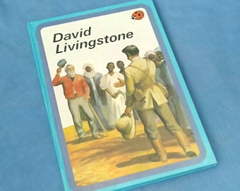 David Livingstone - Vintage Ladybird Book Series 561 - History - Glossy Covers
