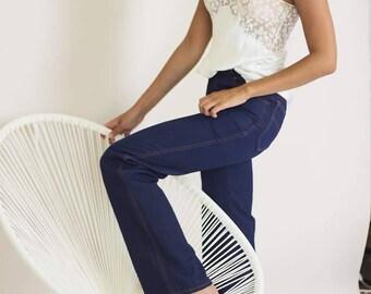 Original Vintage 70s Kick-Flared Jeans
