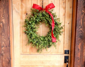 Winter Wreath-Farmhouse Wreath-Winter Home Decor-Valentines Day Wreath-EUCALYPTUS Wreath-Weatherproof Wreath-Housewarming Gift-Wreaths-Gifts