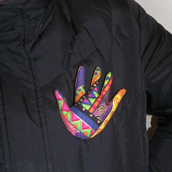 Laurel Burch Signature Hand Brooch ~ Hamsa Pin ~ Ready to Ship