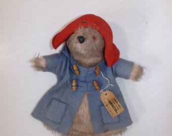 Vintage 1970s Gabrielle designs Paddington bear glove hand puppet soft toy