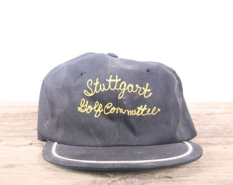 Stuttgart Golf Committee Hat / Golf Decor / Golf Gift / Vintage Military Gift / Army Gift / German Vintage Baseball Hat / Old Baseball Cap