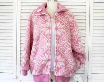 Vintage icelandic etsy vintage icelandic wool jacket icelandic ice knit sweater nos new old stock sciox Images