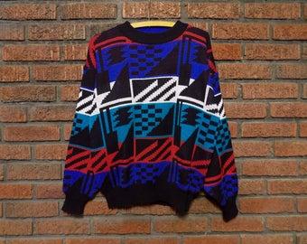 Vintage Ski Sweater Men's M