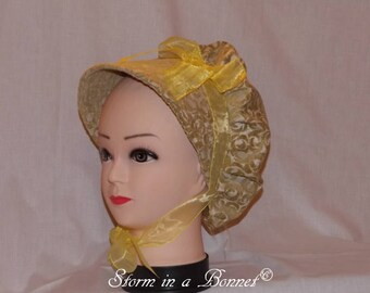 Chenille Regency Bonnet
