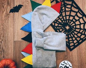 Rainbow Dinosaur Hoodie, Dinosaur Birthday Party, Dino Gift, Christmas Dinosaur,Dinosaur Costume,Toddler Dino Costume,Dino Party,Dragon Gift
