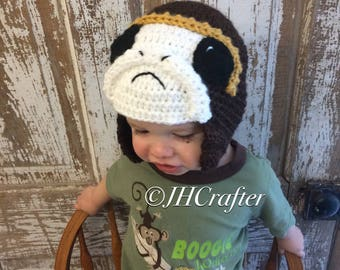 Porg Hat, Star Wars Hat, Crochet hat