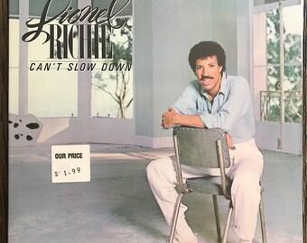 Lionel Richie Record Album - Lionel Richie LP - Lionel Richie Can't Slow Down Album - Can't Slow Down LP - 6059 ML