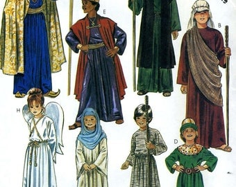 McCalls Pattern 2067 Nativity Costumes Sz 12-14    8 Different Characters