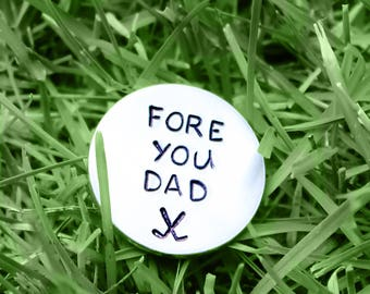 Golf Marker, Golf Ball Marker, Fathers Day Gift, Gifts For Dad, Personalized Golf Marker, Golf Gifts, Golf Accessories