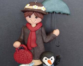 Mary poppins umbrella etsy for Storybook nanny