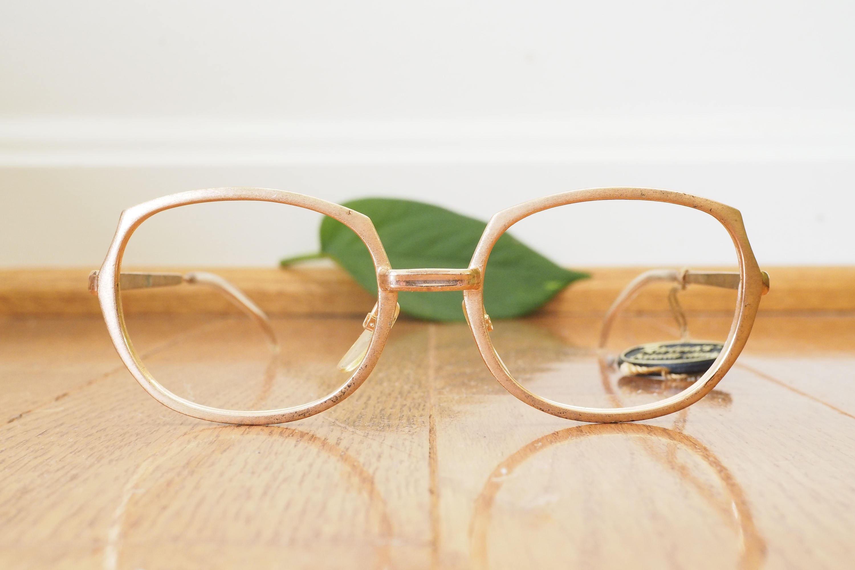 vintage eyeglasses 1960 s oval shaped eyeglass new