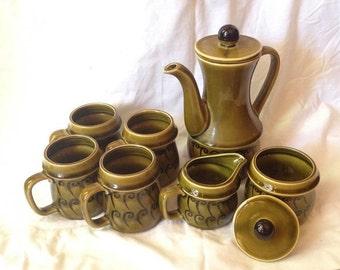 1960s Japanese Coffee/Tea Service Set -  7 Pc