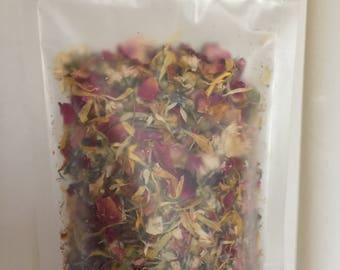Floral Facial Steam & Tea