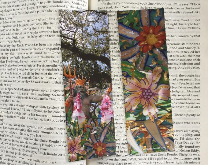 Mardi Gras Bookmark